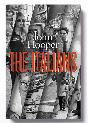 The Italians- UK Edition book cover